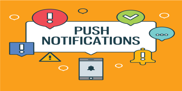 delivering push notifications