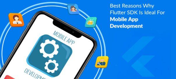 Flutter is regarded As Best SDK for Mobile App Development