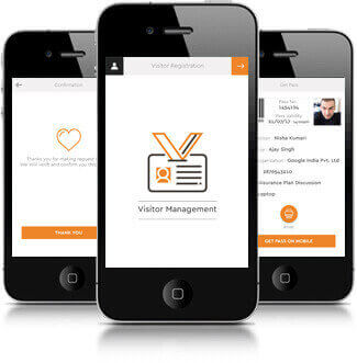 Visitors Management app developed by MobiBiz